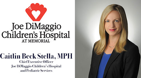 Caitlin Beck Stella Named Ceo Of Joe Dimaggio Children S Hospital