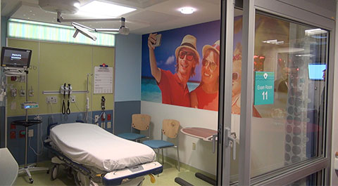 Emergency Room At Joe DiMaggio Childrens Hospital