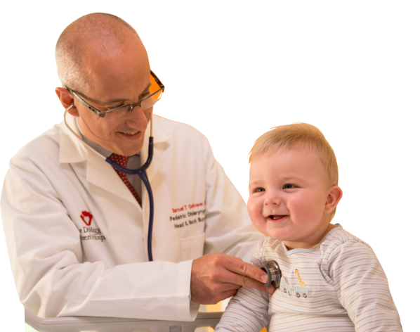 Samuel Ostrower, MD with baby