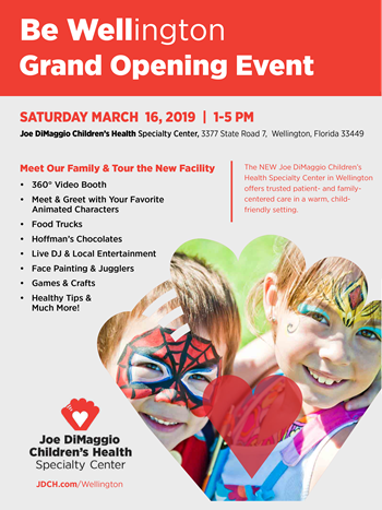 flyer wellington grand opening