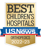 US News, Best Children's Hospital, Orthopedics
